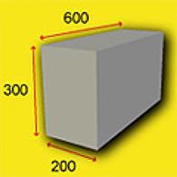 Размеры и расчёт количества пеноблоков