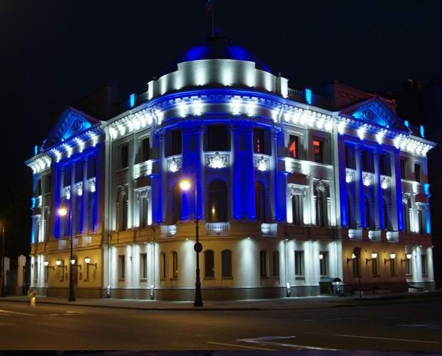 Ленточные светодиоды для подсветки фасадов