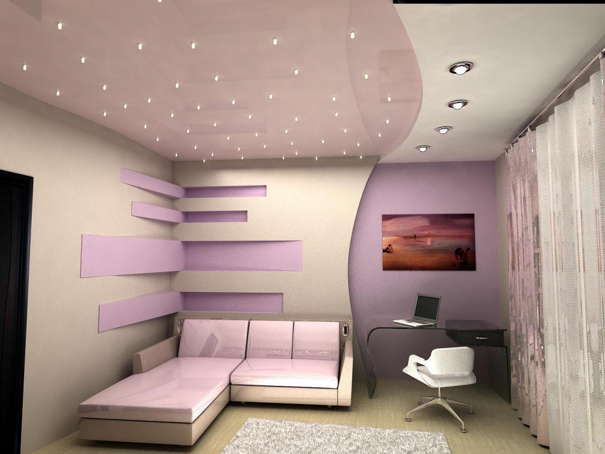 Потолок с подсветкой: часть 1.