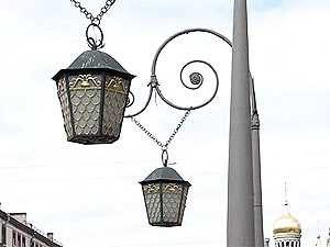 Виды уличных светильников