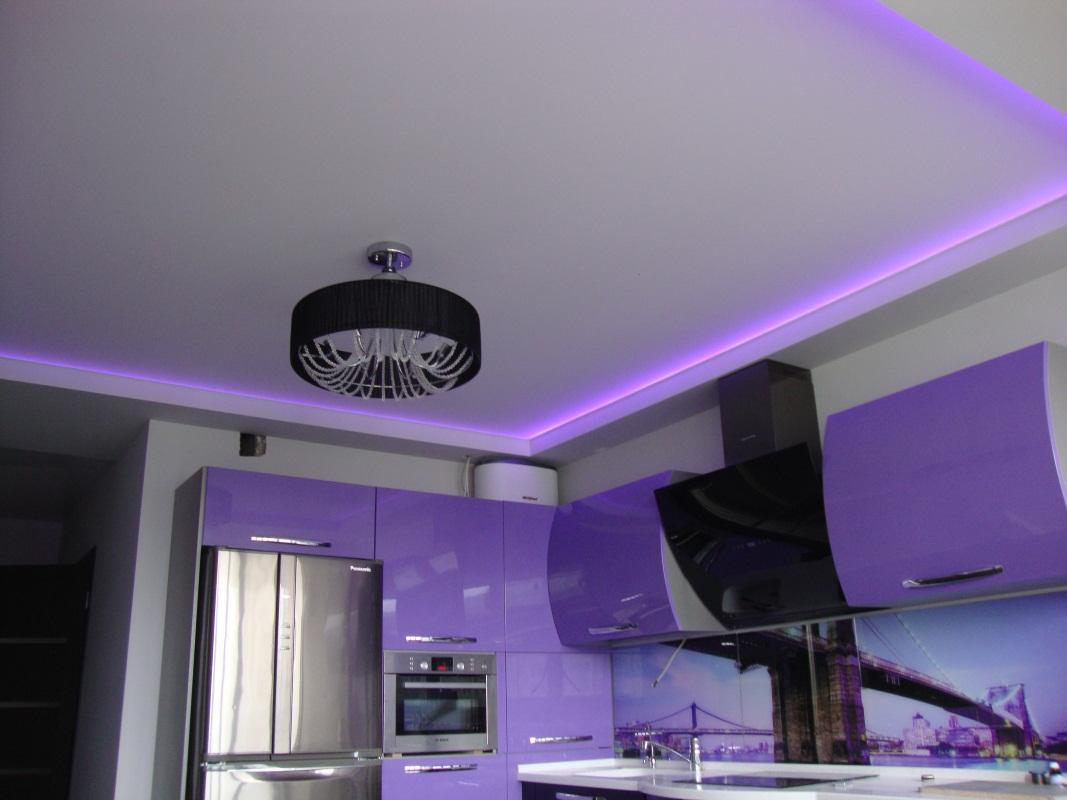 Потолок с подсветкой: часть 2.
