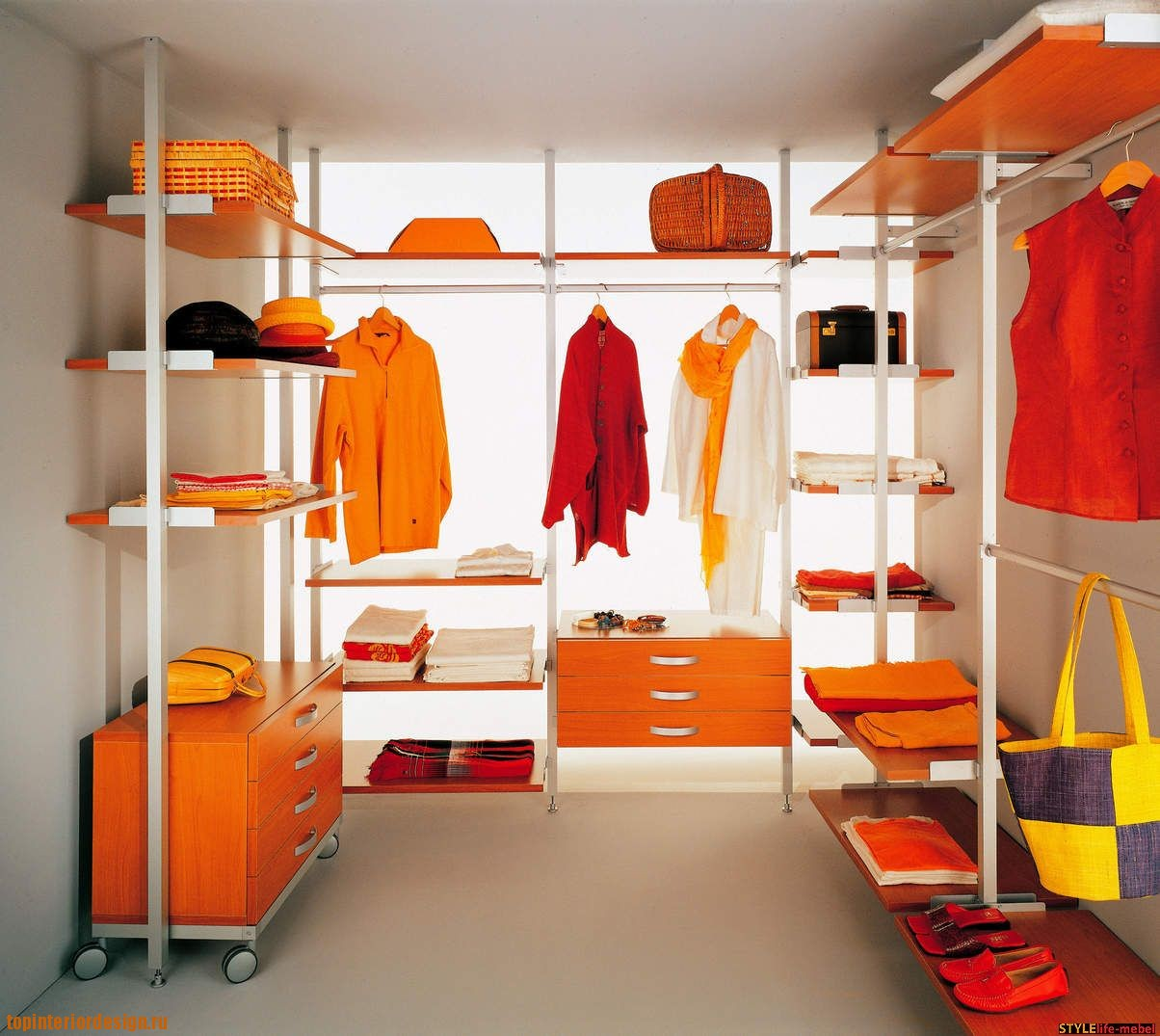 Как и где обустроить гардеробную?