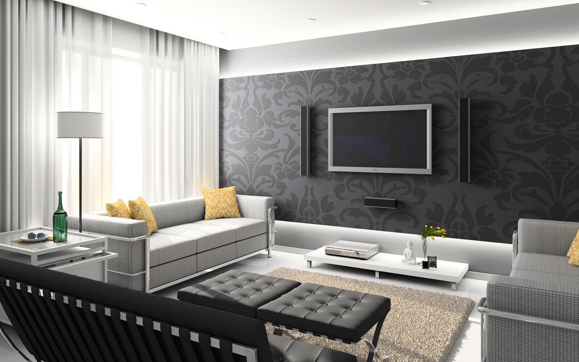 Идеи для стильного интерьера гостиной