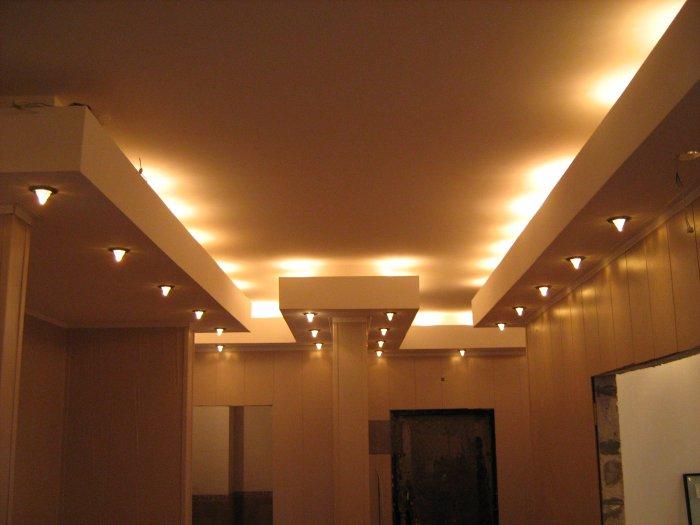 Потолок с подсветкой: часть 3