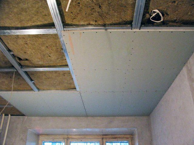 Изолируем потолок