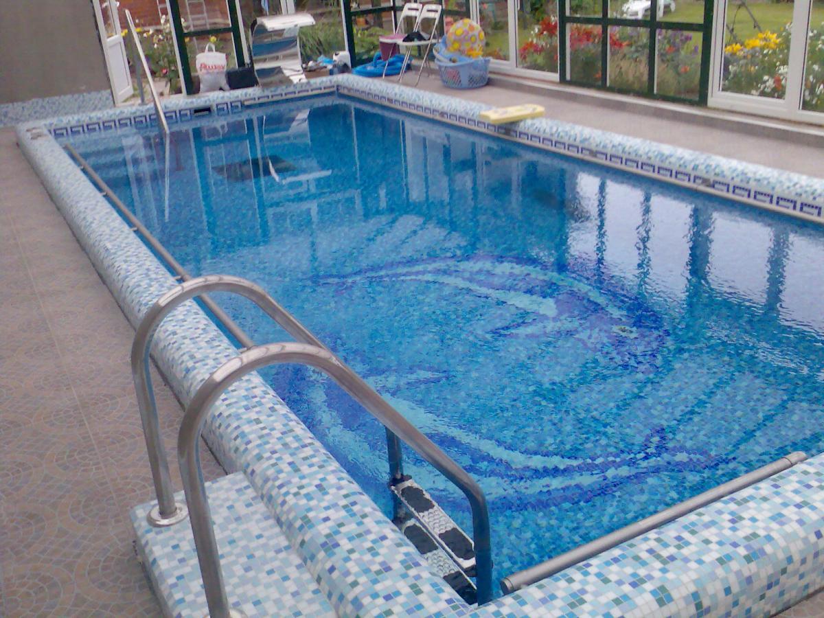Как построить вкопанный бассейн