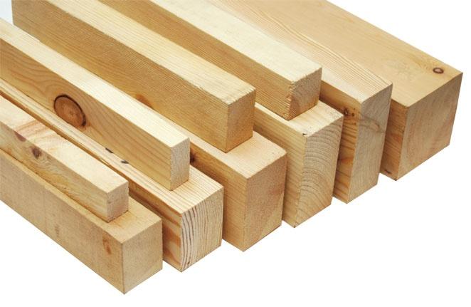 Виды и характеристики деревянного бруска