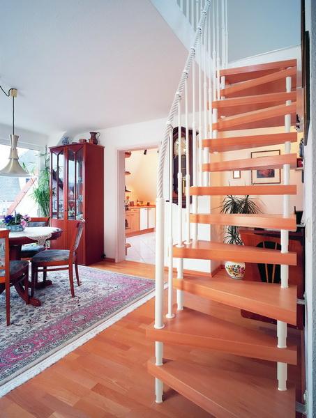 Как сделать лестницу «гусиный шаг»