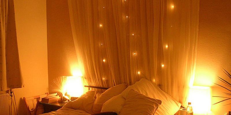 Необычный интерьер спальни - варианты оформления
