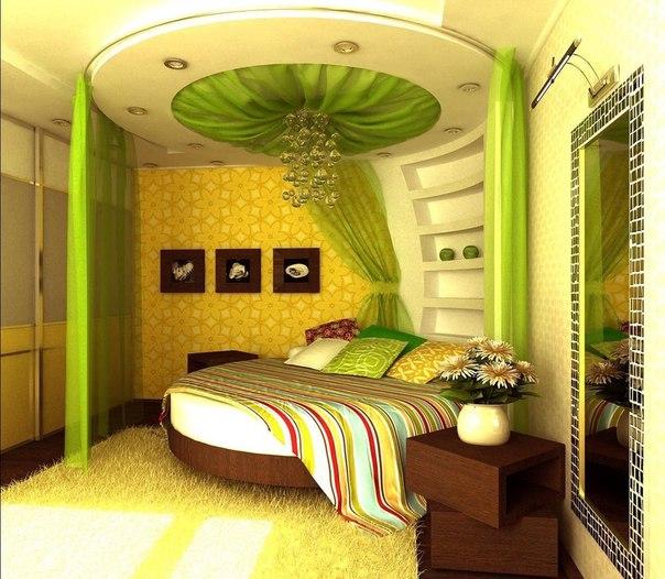 Плюсы и минусы круглых кроватей для спальни