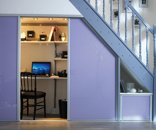 Пространство под лестницей: используем грамотно