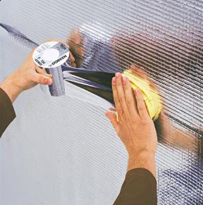 Как укладывать пароизоляцию на потолок