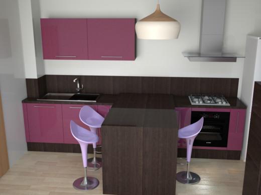 Кухня в стиле минимализм. Мебель и декор