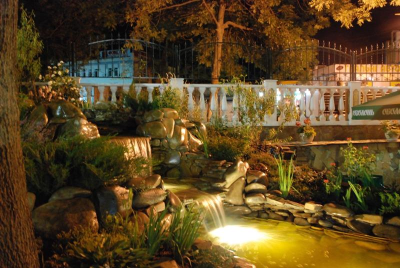 Декоративное ландшафтное освещение - основные принципы