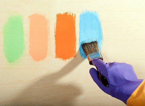 Краски для ремонтных работ – применение и виды