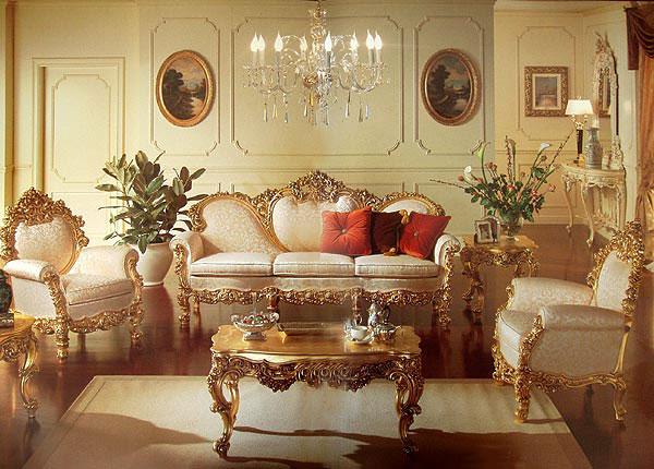 Стиль барокко и готический стиль дизайна интерьера