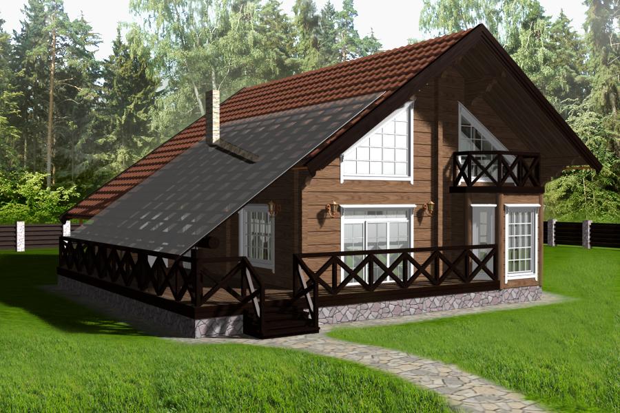 Скандинавский дом, как его построить?