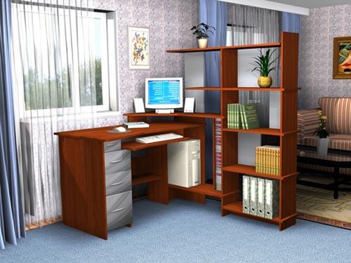 Работаем дома: как оформить домашний офис