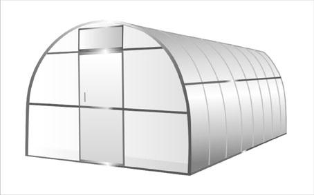 Сотовый поликарбонат - преимущества постройки теплицы