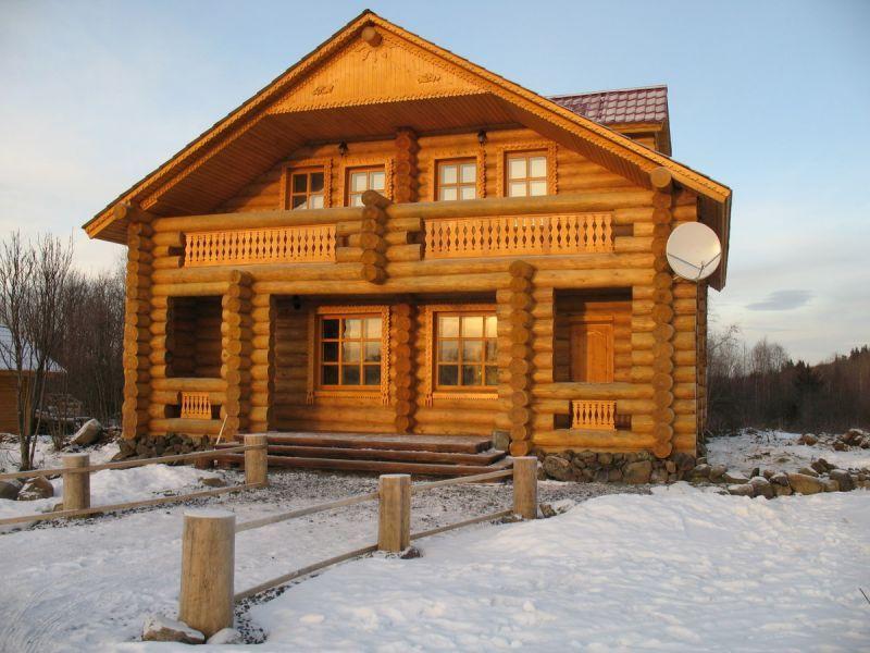 Выбор сруба для деревянного дома