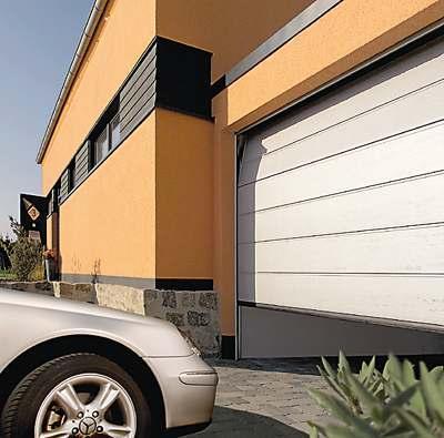 Виды и выбор секционных ворот для гаража