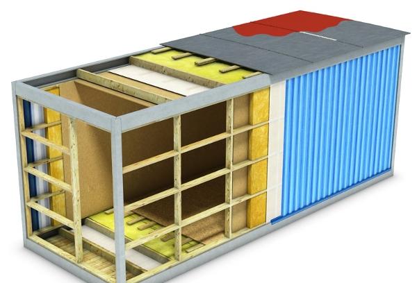 Блок-контейнеры: особенности изготовления и эксплуатации