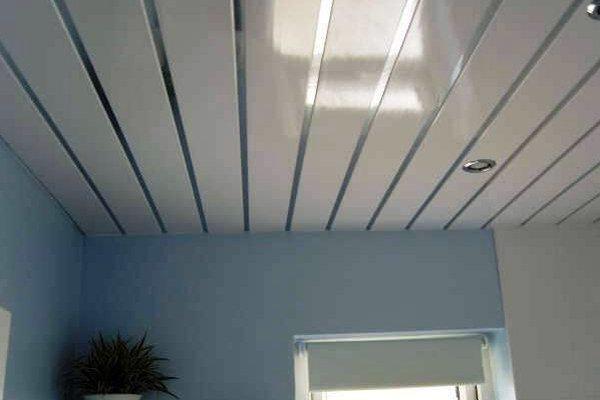 Влажное помещение: простой способ создания потолка