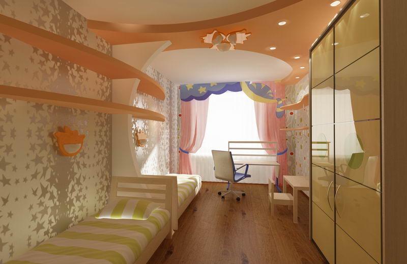 Детская комната: практичность и безопасность