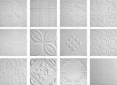 Пенополистирольная плитка: самостоятельная отделка потолка