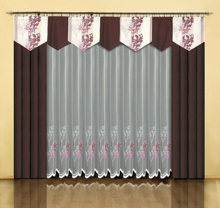 Дизайн штор для гостиной - критерии выбора