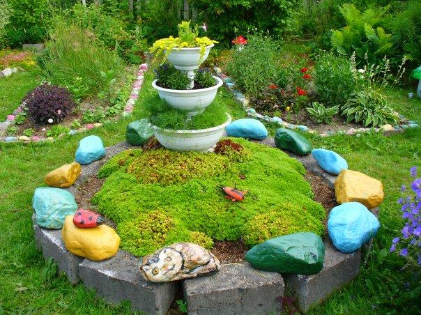 Декорирование сада: варианты и рекомендации