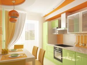 кухня цвет