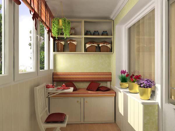 Шкаф на балкон на заказ - как правильно выбрать