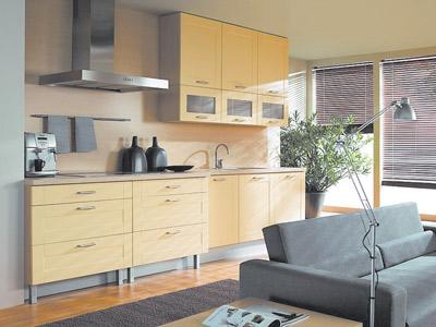 Кухня - начало ремонта и строительные материалы