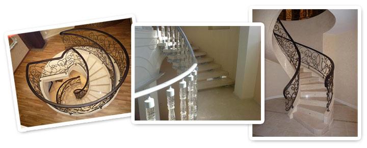 Винтовая лестница: особенности конструкции