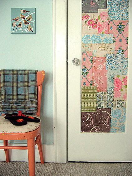 4 способа декорировать межкомнатную дверь (новую или старую)