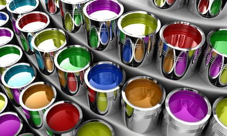 Колеровка краски - способы и применение