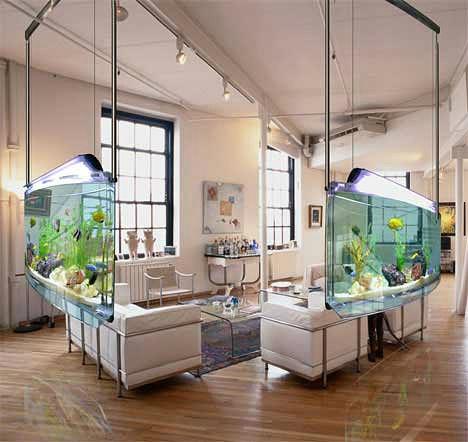 Выбираем аквариум под интерьер