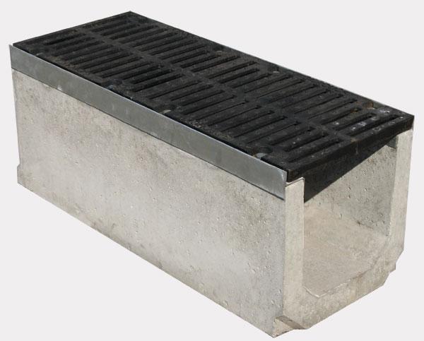 Водоотводные бетонные лотки - преимущества