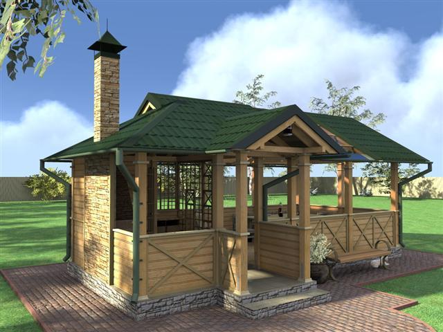Летняя кухня: виды и строительство