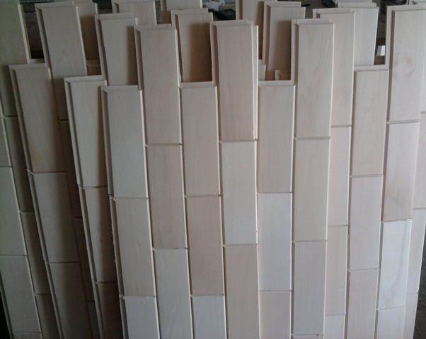 Стеновой паркет: особенности материала и монтаж