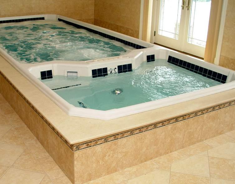 Способы отделки бассейна
