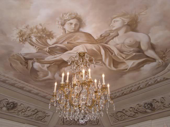 Акриловая роспись потолка - преимущества