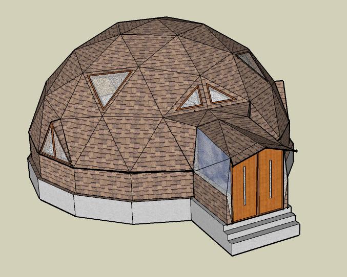 Купольные дома – оригинально и экономно