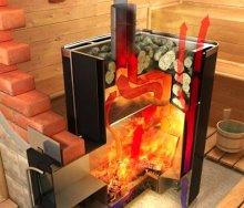 Печь для бани из металла своими руками - как построить