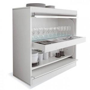Кухонные полки - новые возможности