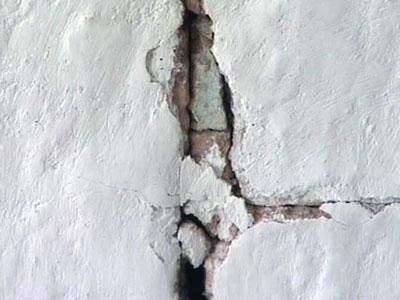 Трещины в зданиях: причины возникновения