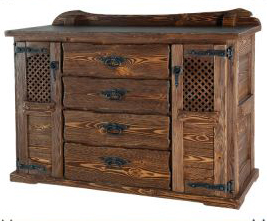 Состаривание мебели - способы