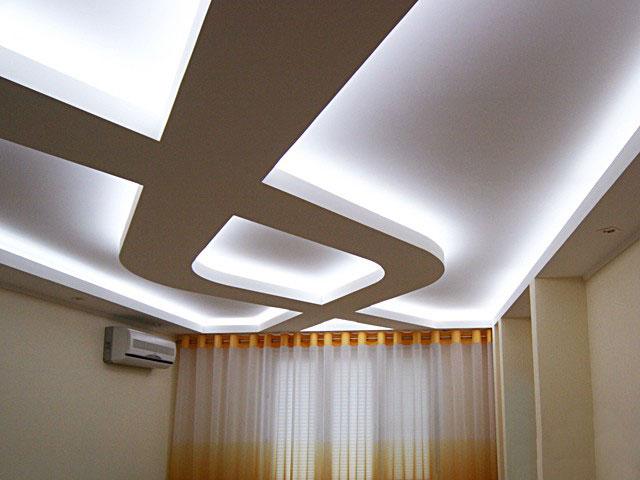 Способ монтажа потолочной ниши с подсветкой