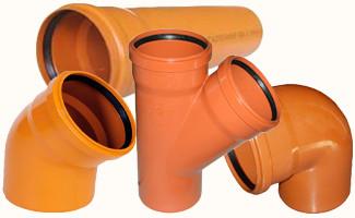 Трубы для канализационной системы: виды и характеристики